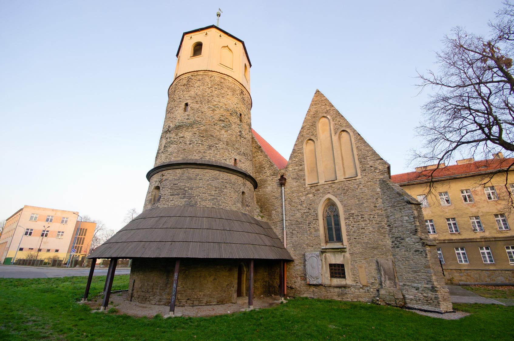 St. Gotard's rotunde in Strzelin - Poland